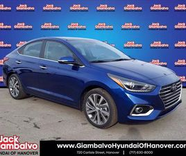 2021 HYUNDAI ACCENT LIMITED EDITION