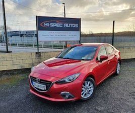 2015 MAZDA MAZDA3 150PS EXECUTIVE SE FOR SALE IN CLARE FOR €10500 ON DONEDEAL