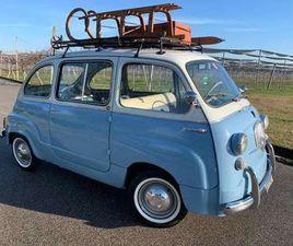 FIAT 600 MULTIPLA 6 POSTI TOTAL RESTORED DEL 1964