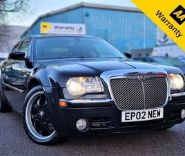 CHRYSLER 300C 3.0 SRT DESIGN 4D 215 BHP! P/X WELCOME! 2008 CAR! AUTOMATIC! XENON! TOUCH S