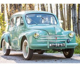 RENAULT - 4 CV AFFAIRE