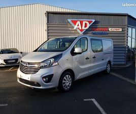 OPEL VIVARO 1.6 CDTI L2H1 125 EDITION 6 PLACES DEMONTABLES