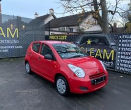 USED 2014 SUZUKI ALTO SZ HATCHBACK 32,000 MILES IN RED FOR SALE | CARSITE