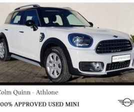 MINI COUNTRYMAN COOPER D FOR SALE IN WESTMEATH FOR €25995 ON DONEDEAL