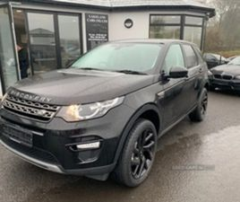 USED 2017 LAND ROVER DISCOVERY SPORT SE TECH T ESTATE 29,000 MILES IN BLACK FOR SALE   CAR