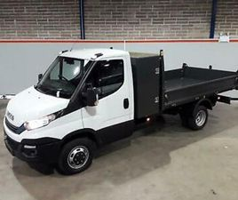 IVECO DAILY TIPPER WITH TOOL POD 2.3LTR 160PS HIMATIC 3500GVW 3750 WHEELBASE
