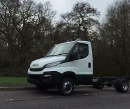 IVECO DAILY CHASSIS 35C14 A8 2.3LTR 140PS HIMATIC 3500GVW 3750 WHEELBASE