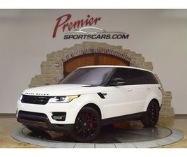 2017 LAND ROVER RANGE ROVER SUPERCHARGED DYNAMIC