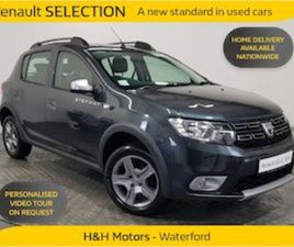 DACIA SANDERO STEPWAY STEPWAY SIGNATURE TOUCH SC FOR SALE IN WATERFORD FOR €16995 ON DONED