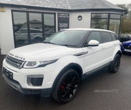 USED 2017 LAND ROVER RANGE ROVER EVOQUE SE ED4 NOT SPECIFIED 47,000 MILES IN WHITE FOR SAL