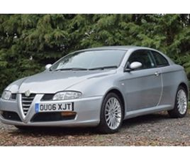 USED 2006 ALFA ROMEO GT JTS COUPE 65,463 MILES IN SILVER FOR SALE | CARSITE