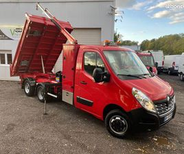 RENAULT MASTER 2.3 DCI 165CH REMORQUE MAXICARGO BENNE GRUE MAXILIFT M180-3 DH CHARGE UTILE
