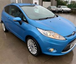 USED 2012 FORD FIESTA 1.4 TITANIUM TDCI 3D 69 BHP HATCHBACK 115,000 MILES IN BLUE FOR SALE