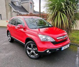 HONDA CR-V 4X4 NCT & TAX FOR SALE IN KILDARE FOR €4899 ON DONEDEAL