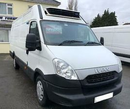 IVECO DAILY LWB FRIDGE VAN 240 OVERNIGHT STANDBY