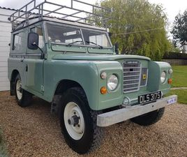 LAND ROVER SERIES III 2.3 D COUNTY STATION WAGON (7 SEATS)