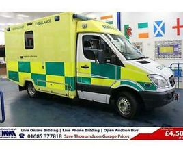 2011 - 61 - MERCEDES SPRINTER 519 3.0CDI 190PS AUTO WAS BODY AMBULANCE / CAMPER