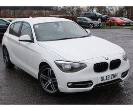 BMW 1 SERIES 114I SPORT 5-DOOR 1.6 5DR