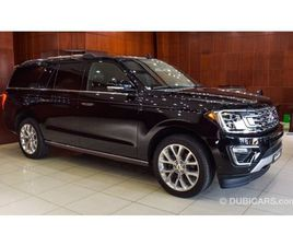 FORD EXPEDITION MAX LIMITED ECOBOOST FOR SALE: AED 199,000