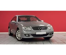USED 2009 MERCEDES-BENZ CLK CLK200K AVANTGARDE COUPE 88,000 MILES IN SILVER FOR SALE | CAR