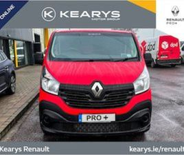 RENAULT TRAFIC LL29 DCI 95 BUSINESS. INC VAT FOR SALE IN CORK FOR €23900 ON DONEDEAL