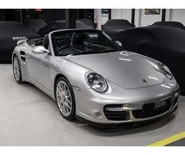 997.2 TURBO S CABRIOLET SUPPLIED WITH PORSCHE TRANSFERABLE WARRANTY UNTIL JULY 2022.