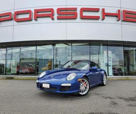 USED 2009 PORSCHE 911 CARRERA S CABRIOLET PDK