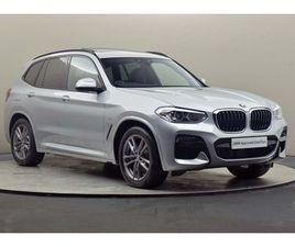 BMW X3 SERIES X3 XDRIVE30D M SPORT 3.0 5DR