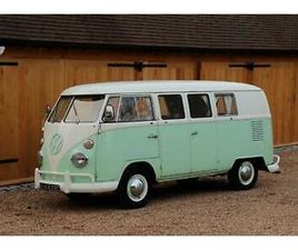 1965 VW SPLIT SCREEN CAMPER VAN. FACTORY GERMAN BUILT. RIGHT HAND DRIVE.
