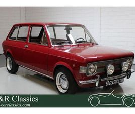 FIAT 128 FAMILIALE 1972 EXTENSIVELY RESTORED - PORTAL COMPRA VENTA VEHÍCULOS CLÁSICOS