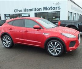 USED 2019 JAGUAR E-PACE 2.0 R-DYNAMIC HSE AWD 5D 180 BHP ESTATE 30,027 MILES IN RED FOR SA