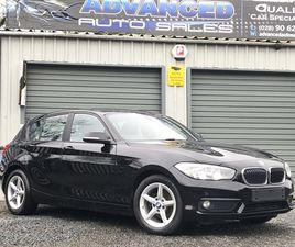 >2016 BMW 1 SERIES 116D EFFICIENTDYNAMICS PLUS 5DR