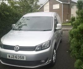 VW CADDY C20 MAXI HIGHLINE 1.6TDI VAN FOR SALE IN DOWN FOR £7950 ON DONEDEAL