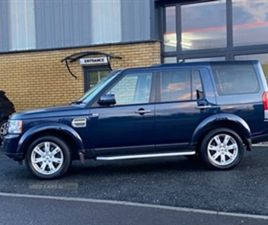 USED 2013 LAND ROVER DISCOVERY GS SDV6 AUTO NOT SPECIFIED 77,000 MILES IN BLUE FOR SALE  