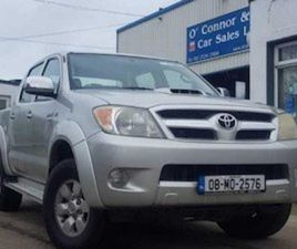 TOYOTA HILUX RC D-4D SR5 DC 4DR FOR SALE IN WEXFORD FOR €11750 ON DONEDEAL