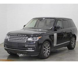 2016 LAND ROVER RANGE ROVER SUPERCHARGED AUTOBIOGRAPHY