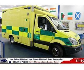 2013 - 13 - MERCEDES SPRINTER 519 3.0CDI AUTO AMBULANCE C/W LIFT (GUIDE PRICE)