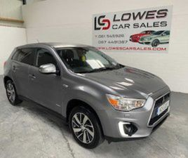 142 MITSUBISHI ASX3 INTENSE 1.6 LOW MILEAGE FOR SALE IN LIMERICK FOR €10750 ON DONEDEAL