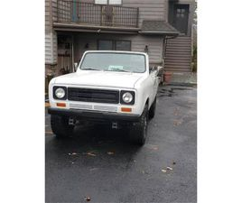 FOR SALE: 1977 INTERNATIONAL SCOUT II IN CADILLAC, MICHIGAN