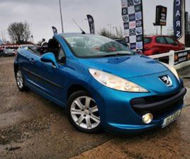 PEUGEOT 207, 2008. CONVERTIBLE FOR SALE IN LIMERICK FOR €2450 ON DONEDEAL