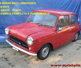 VENDO MINI MINOR MK3 L. INNOCENTI