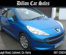 PEUGEOT 207 S 1.4 5 DR 8V 5DR FOR SALE IN KERRY FOR €2600 ON DONEDEAL