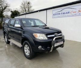 2006/06 TOYOTA HILUX 3.0 D4D FOR SALE IN WESTMEATH FOR €8750 ON DONEDEAL