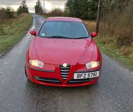 ALFA ROMEO, 147, HATCHBACK, 2003, MANUAL, 1598 (CC), 5 DOORS