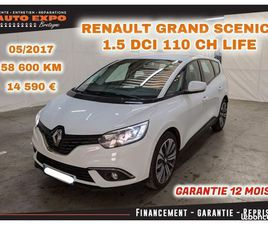 RENAULT GRAND SCENIC IV 1.5 DCI 110CH ENERGY LIFE