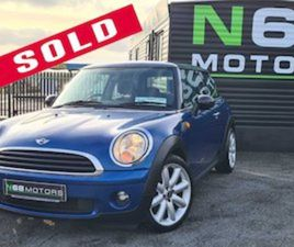 MINI ONE ME32 1.4P 3DR HATCHBACK FOR SALE IN CLARE FOR €4495 ON DONEDEAL