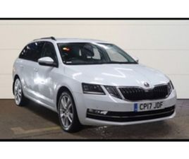 USED 2017 SKODA OCTAVIA 2.0 SE L TDI 5D 148 BHP ESTATE 75,000 MILES IN WHITE FOR SALE | CA