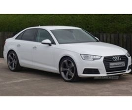 USED 2017 AUDI A4 SE ULTRA TDI S-A SALOON 85,000 MILES IN WHITE FOR SALE | CARSITE