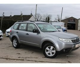 >2010 SUBARU FORESTER 2.0 X 5DR