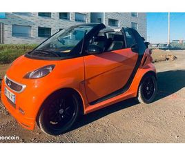 SMART FORTWO BRABUS CABRIOLET NIGHT-ORANGE